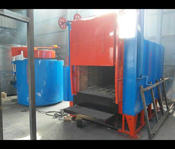 105kw台车式铸造烧壳炉